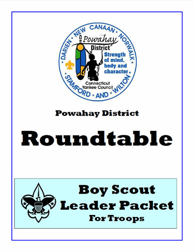 Powahay Round Table Cub Scout Leader Packet